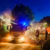Bis in die Nacht hinein löschten rund 170 Ehrenamtliche mehrere Brände in Soldorf (Foto: n112.de/Stefan Simonsen)